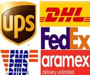 DHL/UPS/FEDEX/TNT courier service from China to North Korea/India/Malaysia/Singapore/New zealand/In