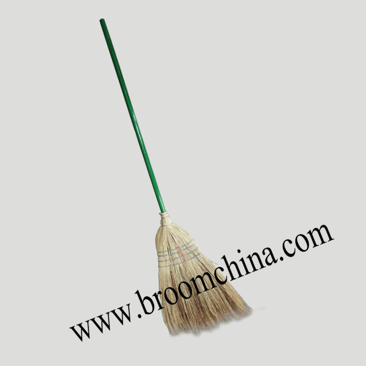 garden long handle 100% natural sorghum broom
