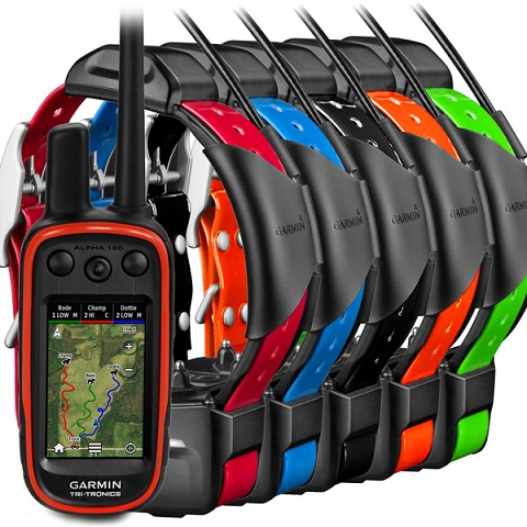 GARMIN-Alpha 100 and 5 x TT 15 Dog Tracking and Training Bundle