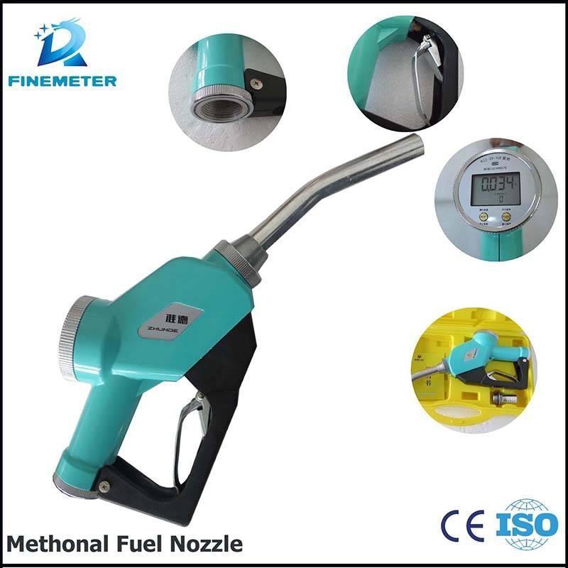 LCD display fuel meter nozzle Fuel nozzle factory refueling meter nozzle