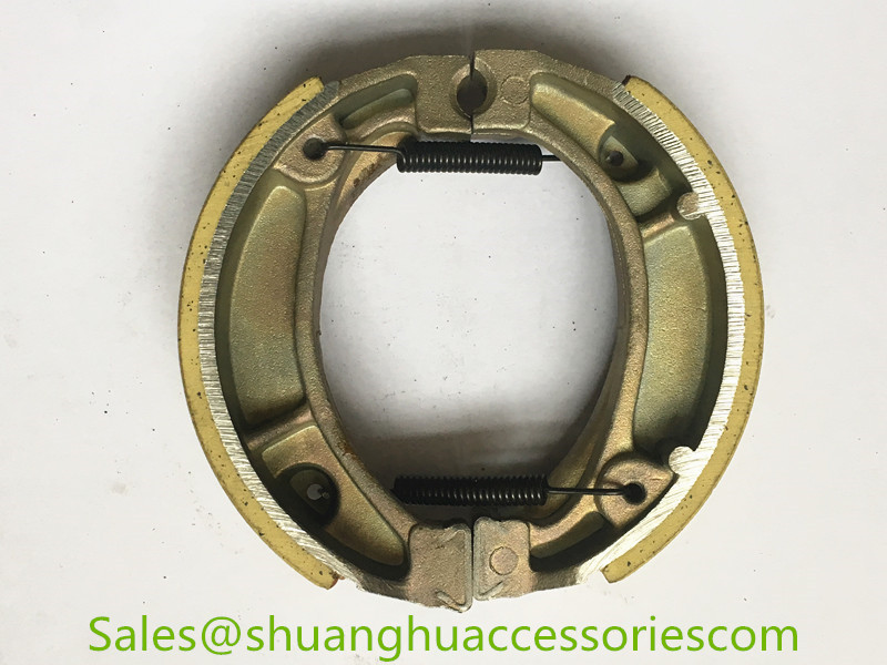 CD70 Brake Shoe for Honda motorcycle,weightness of 170g,ISO9001:2008