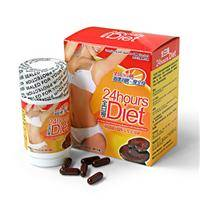 24 HOURS DIET Japan LINGZHI Slimming Formula(60Capsules)