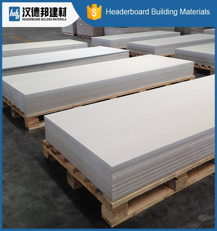 100% Non asbestos fiber cement board supply thickness from 4-30mm floor/partition wall/siding