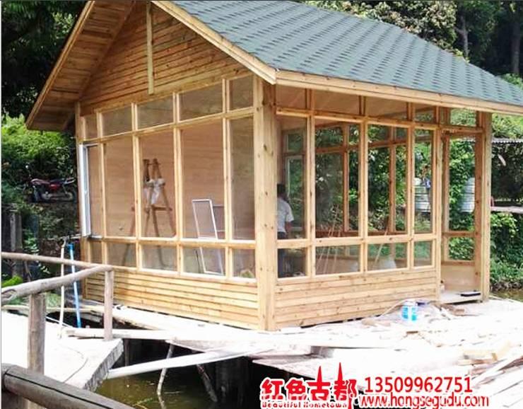 Supply Cheap Price Small Wooden Prefab Villa