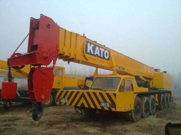 KATO NK800E used kato 80ton truck mobile crane used kato crane kato nk800E 80ton crane