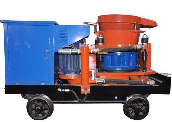 HSP-7 series wet-mix concrete shotcrete machine,wet shotcreting machine
