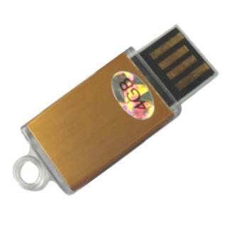 Mini Plastic USB memory with push-up