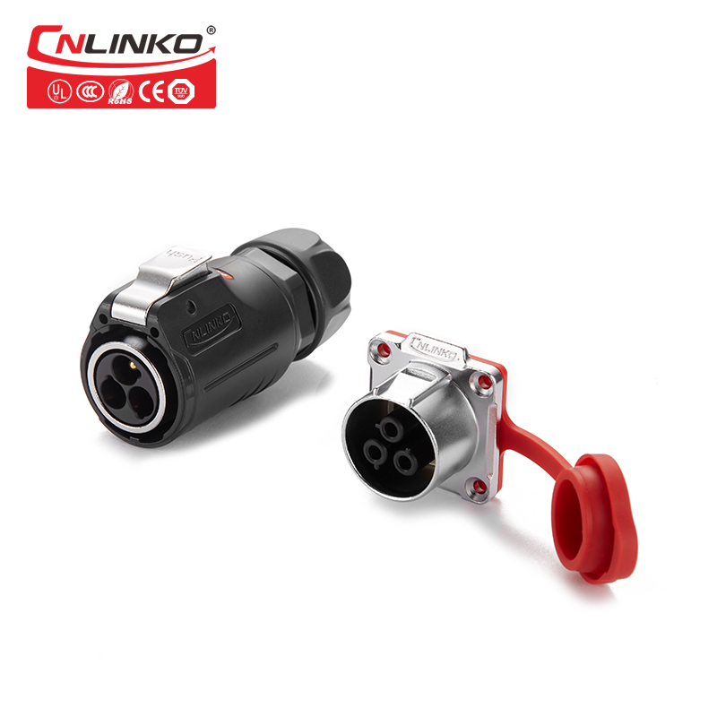 Cnlinko UL/CCC/CE Approved plug and socket Butt quick disconnect Circular power connectors