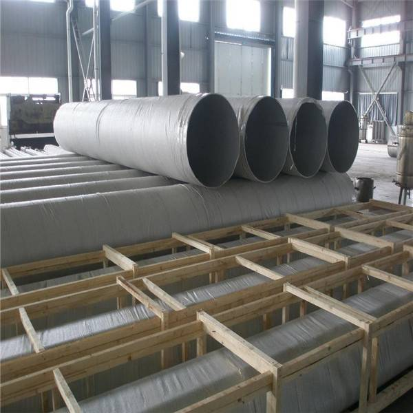 Larege diameter welded steel pipe