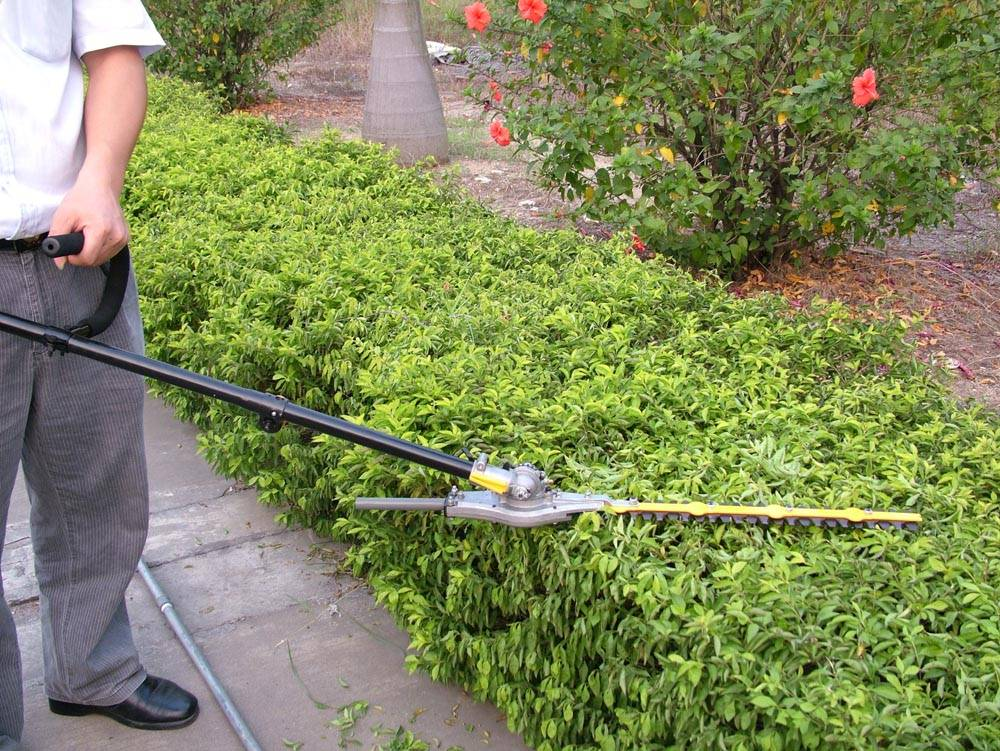 Articulating Hedge Trimmer,Garden Tools,Long Reach Hedge Trimmer