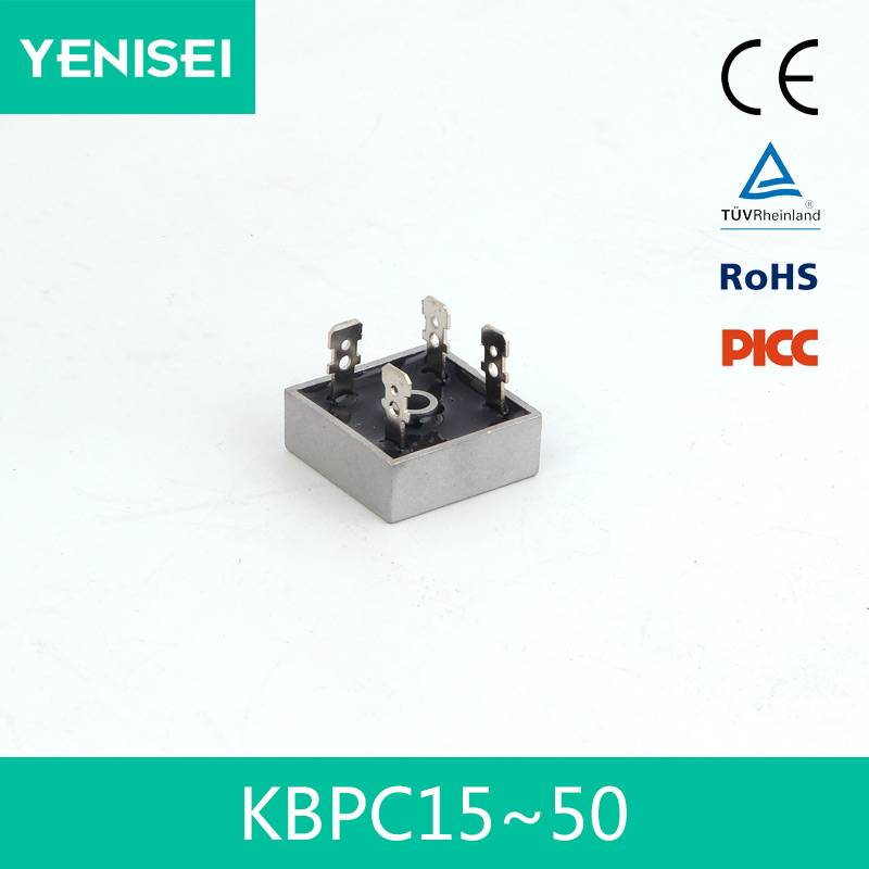 KBPC3510 PCB Bridge Rectifier 35A 1000V
