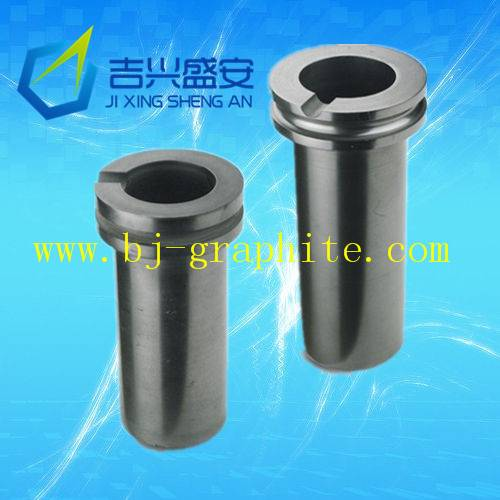 High purity graphite crucible melting gold