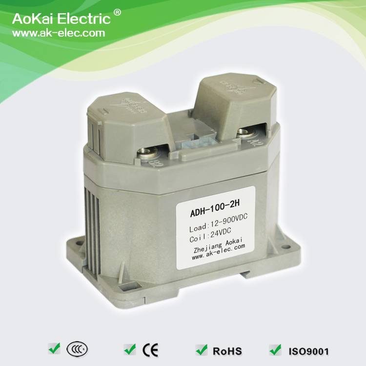 ADH-100 standard type electric winch car motor use main circuit 100A 500V DC contactors dc voltage m