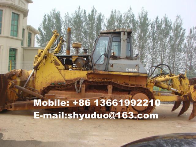 Used Komatsu Crawler Bulldozer D155-A