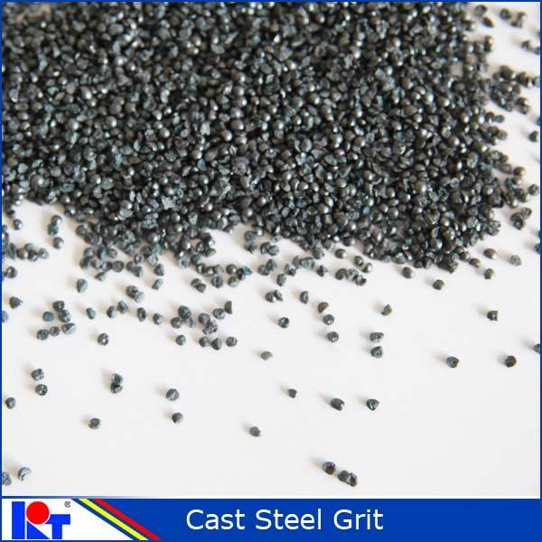 2015 Cast steel grit G12 for rust removal used for shot blasting machine