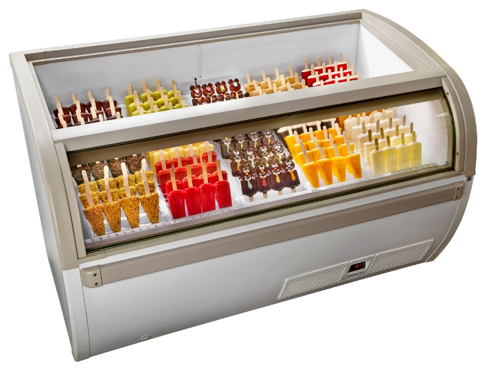 Popsicle ( Stick ice-cream ) Display Freezer