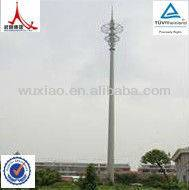 Tubular microwave tower