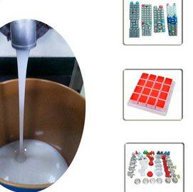 High Transparent Liquid Silicone Rubber Keyboard