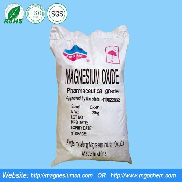 Pharma grade Magnesium Oxide GMP
