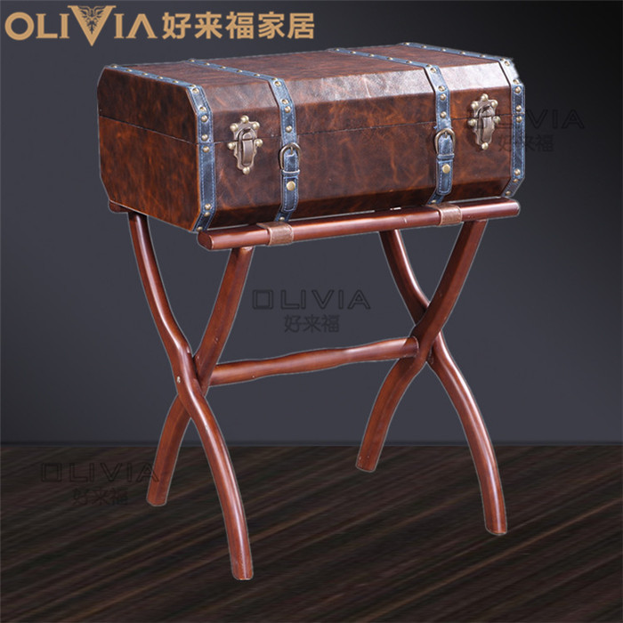 Decorative Foldable Table Cabinet Home Furnishing Storage