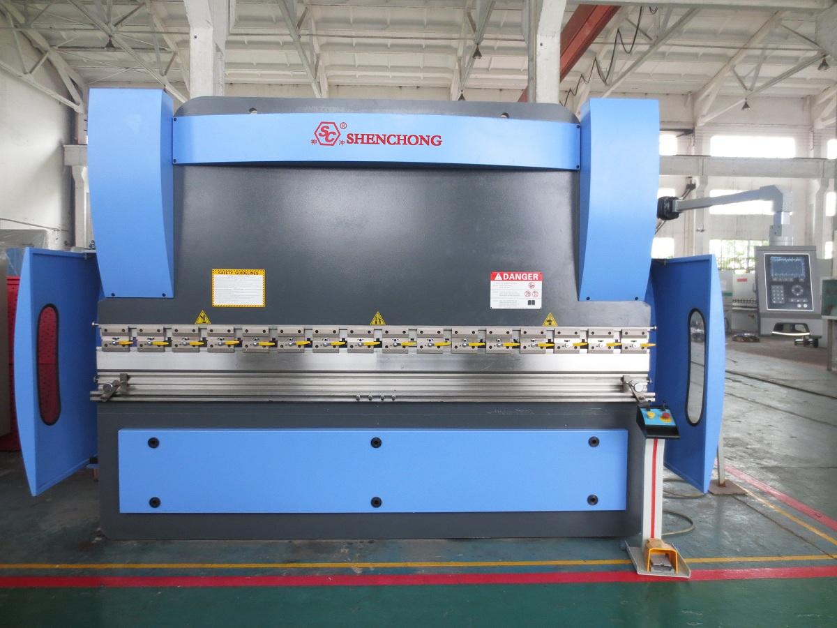 CNC Hydraulic press brake 125T3200mm 4+1axis DELEM 65W