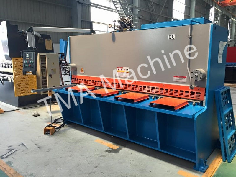 HotLower Price Hydraulic Swing Beam Shearing Machine, Guillotine Plate Shearing Machine