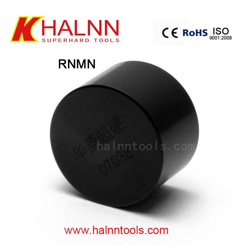 Interrupted hard turning quenched steel CBN inserts from Halnn superhard