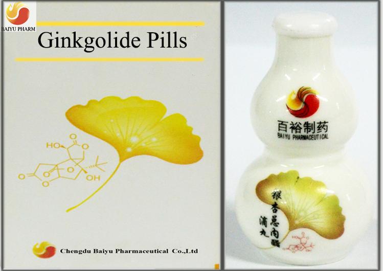 Ginkgolide dripping pill