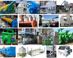 Complete Biomass Pellet Line
