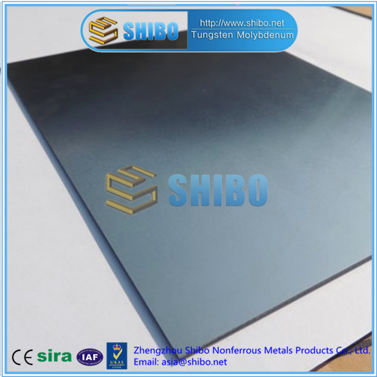 Factory Supply TZM molybdenum plate, TZM plate with best quality