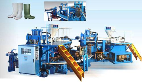 PVC rain boots injection moulding machine