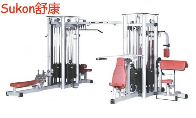 SK-245 Multi station eight station machine multi jungle fitness equipment