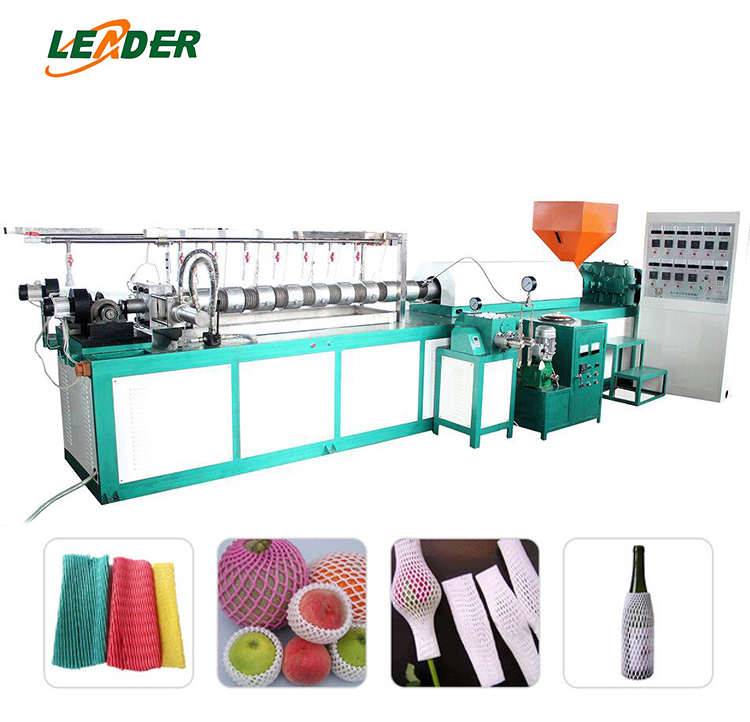 fruit net extruder PE Foam Net Machine EPE Floating Noodle Extrusion Line
