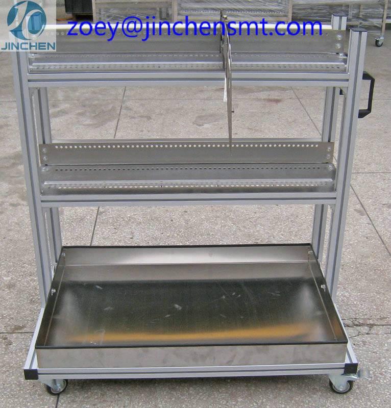 Samsung CP Feeder Cart smt storage feeder trolley for samsung CP series feeder