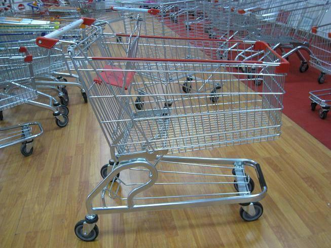 America style shopping trolley