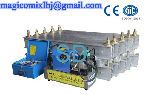 SD Water Cooling Conveyor Belt Hot Press Vulcanizing Machine