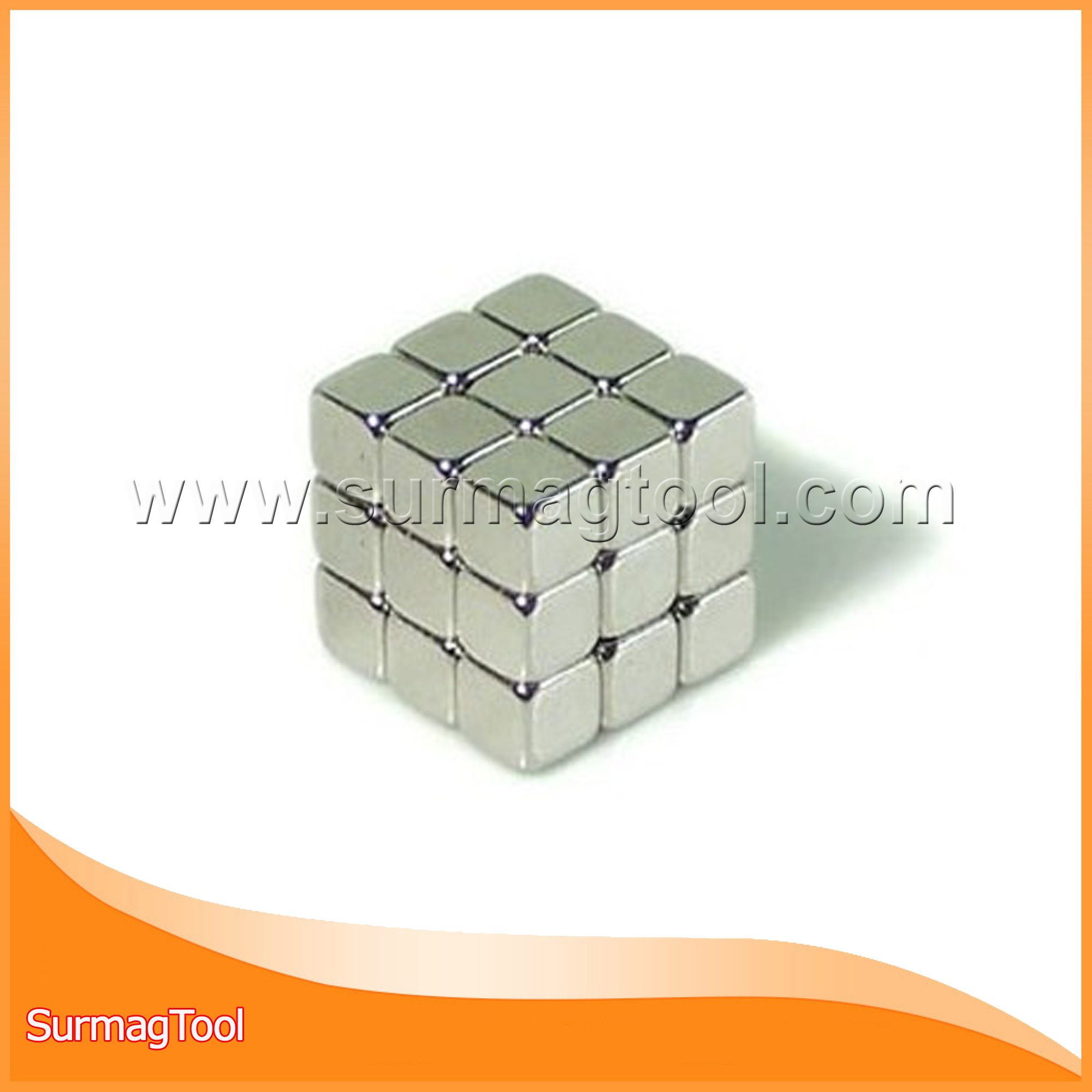 Ni coating cube ndfeb magnets