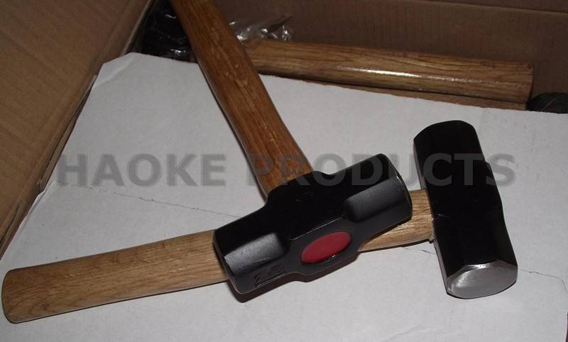 Haoke Products- High-Quality 2LB Wooden Handle Sledge Hammer