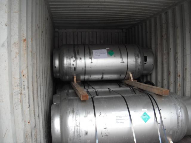 High Purity refrigerant gas r227