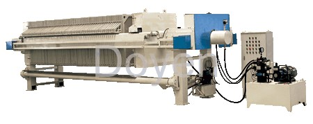 Full automatical PP membrane filter press