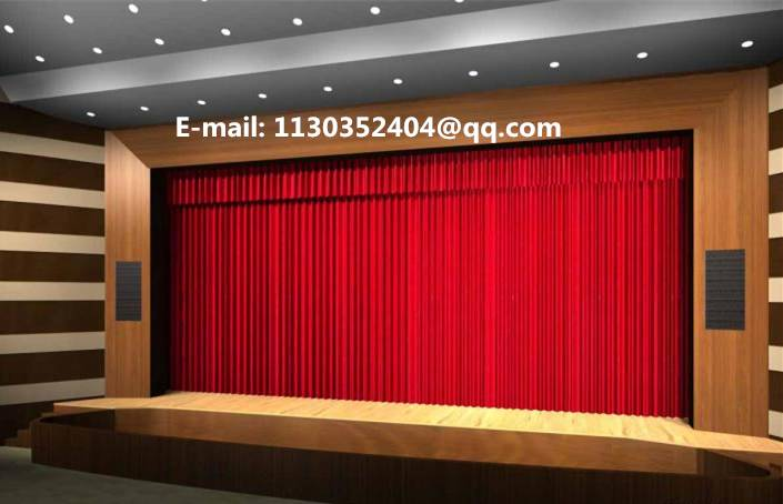Stage Fire Retardant Fabrics Stage Curtains