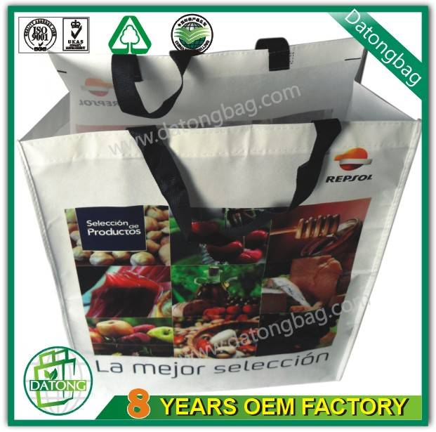 Promotional bag PP non woven bag with handle