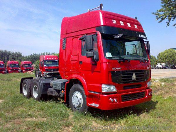 china supply 6*4 tractor truck with 336-420hp