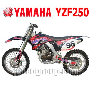 Dirt Bike Full Size 250cc Yamaha YZF250 Water Cooled