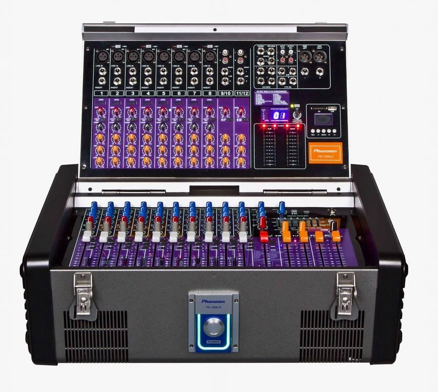 PS-1200LX Professional Audio Mixer