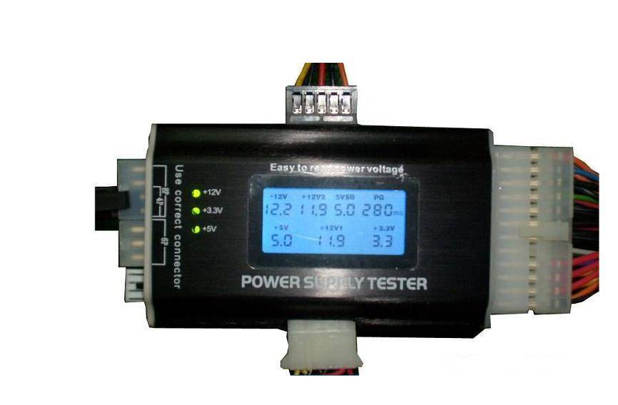 ATX PSU Tester with LCD Display