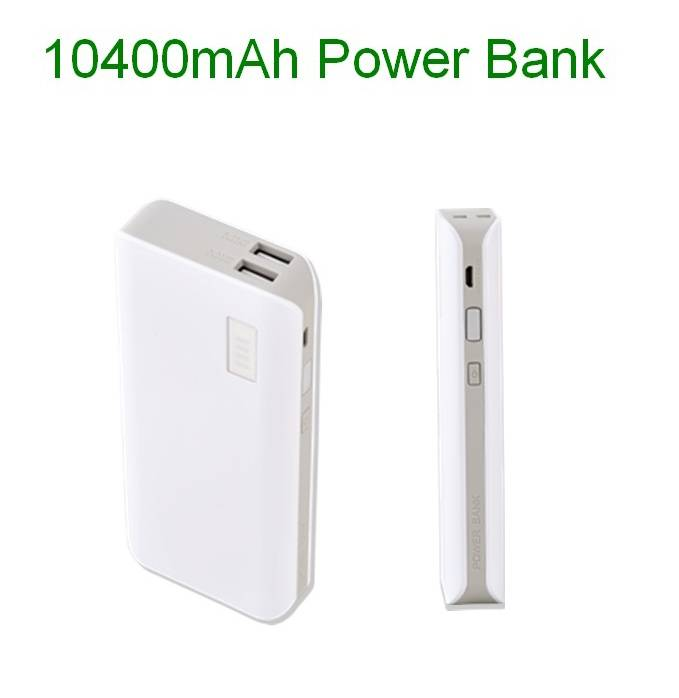 colourful power bank 10400mah power bank external battery for iPhone 5s 5c 6s Samsung real capacity