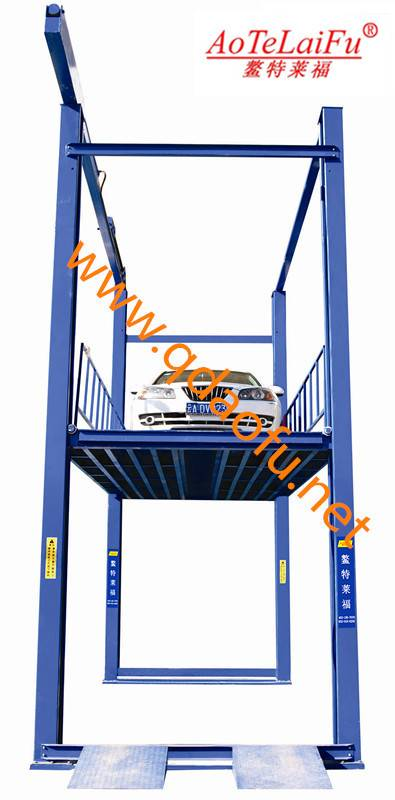 4 post car lift 1-8t for garegeAL-QSJY3-4B