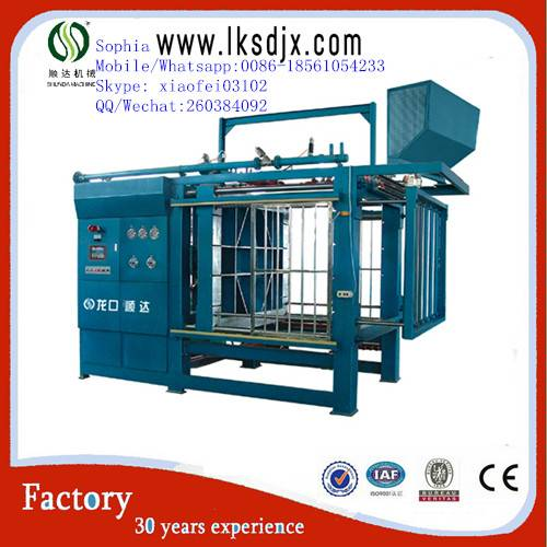 high efficiency eps shape molding equipment
