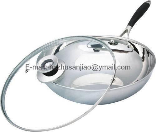 Stainless steel Fumeless Pan
